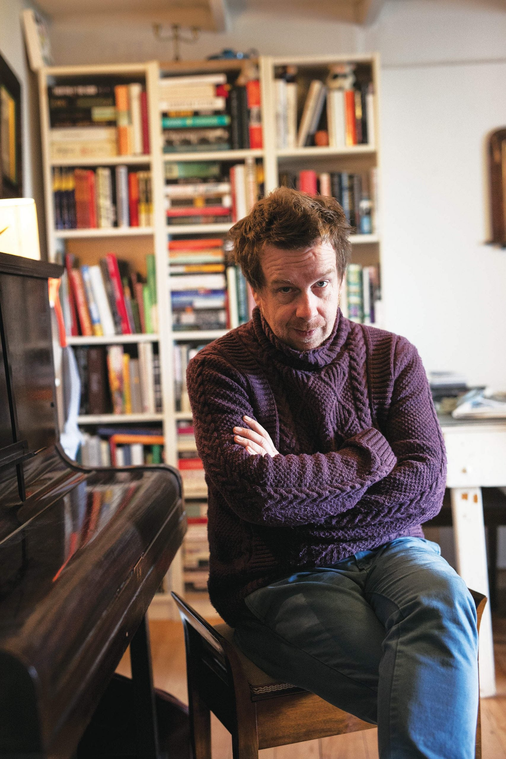 """Kevin Barry's chaotic journey from """"stoner entrepreneur"""" to Ireland's most unpredictable novelist"""