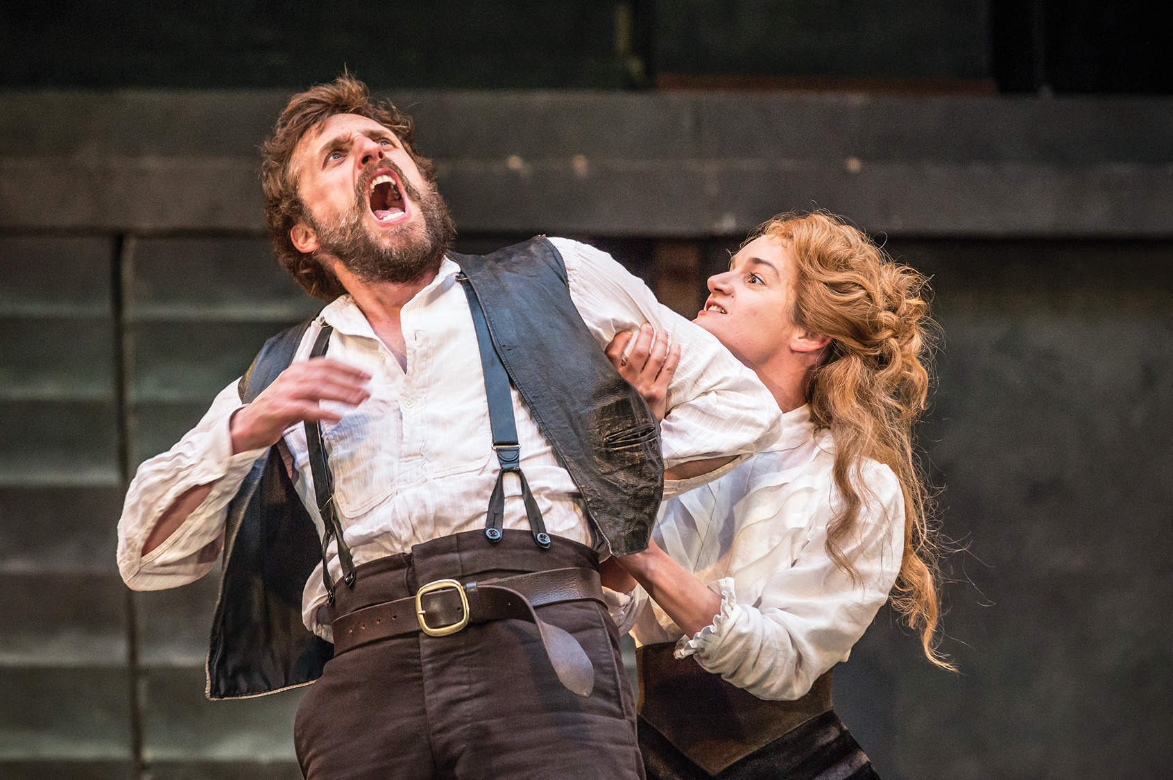 Taming the shrew, two ways: Shakespeare for the stage and the page