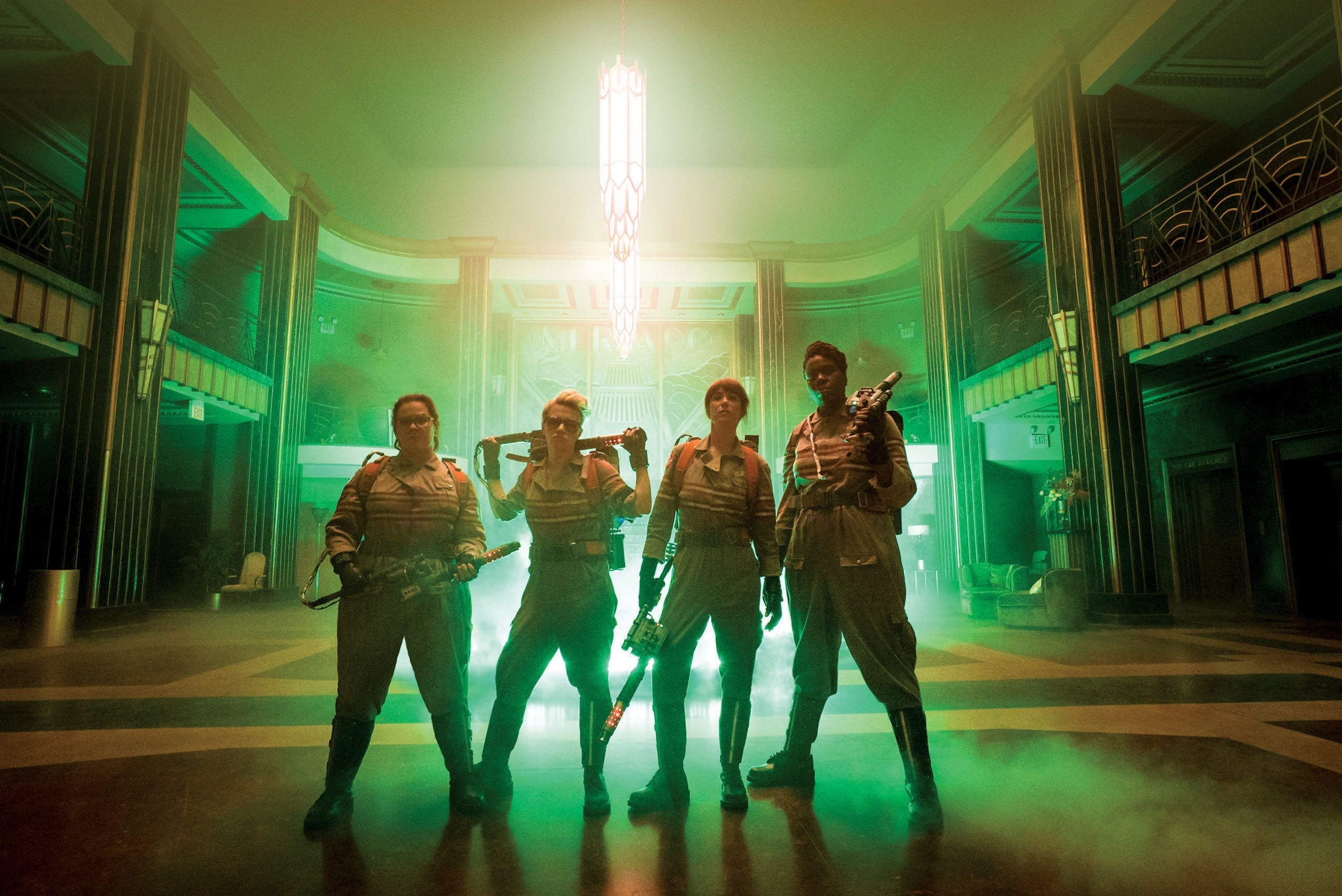 With the new Ghostbusters, busting just got even better