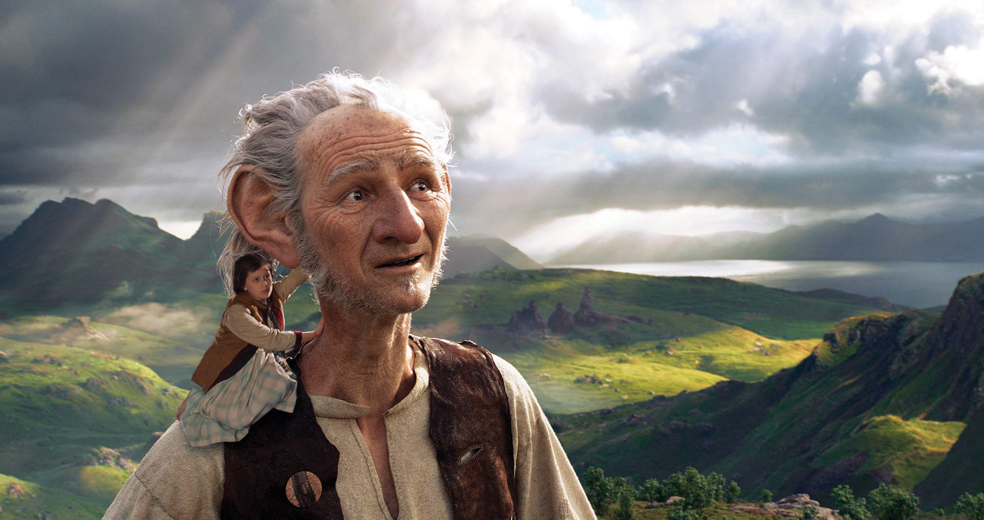 Mark Rylance and Ruby Barnhill shine in The BFG – but the film never quite takes off