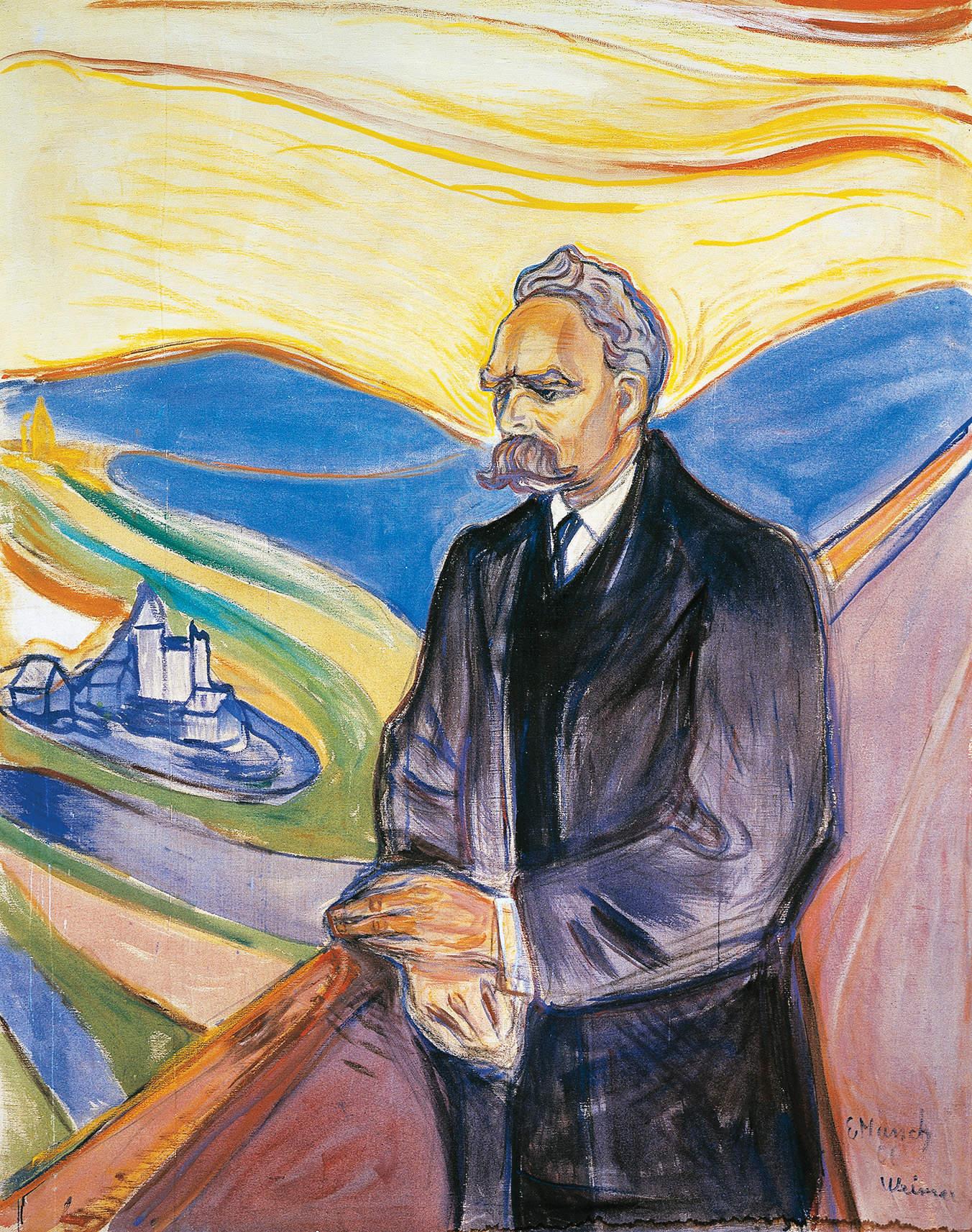 Friedrich Nietzsche, the conqueror with the iron hand