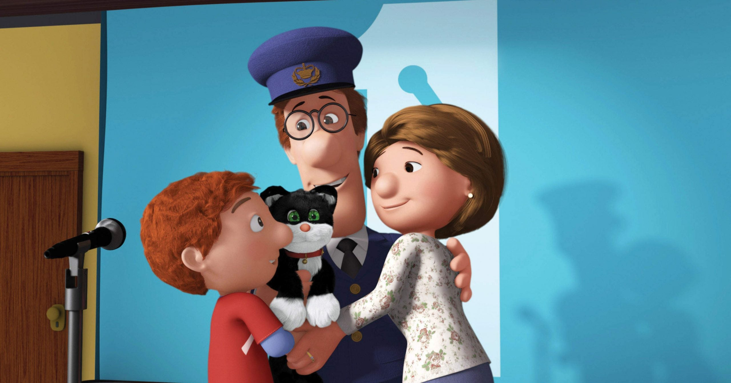 What Postman Pat tells us about letters, parcels, and happiness
