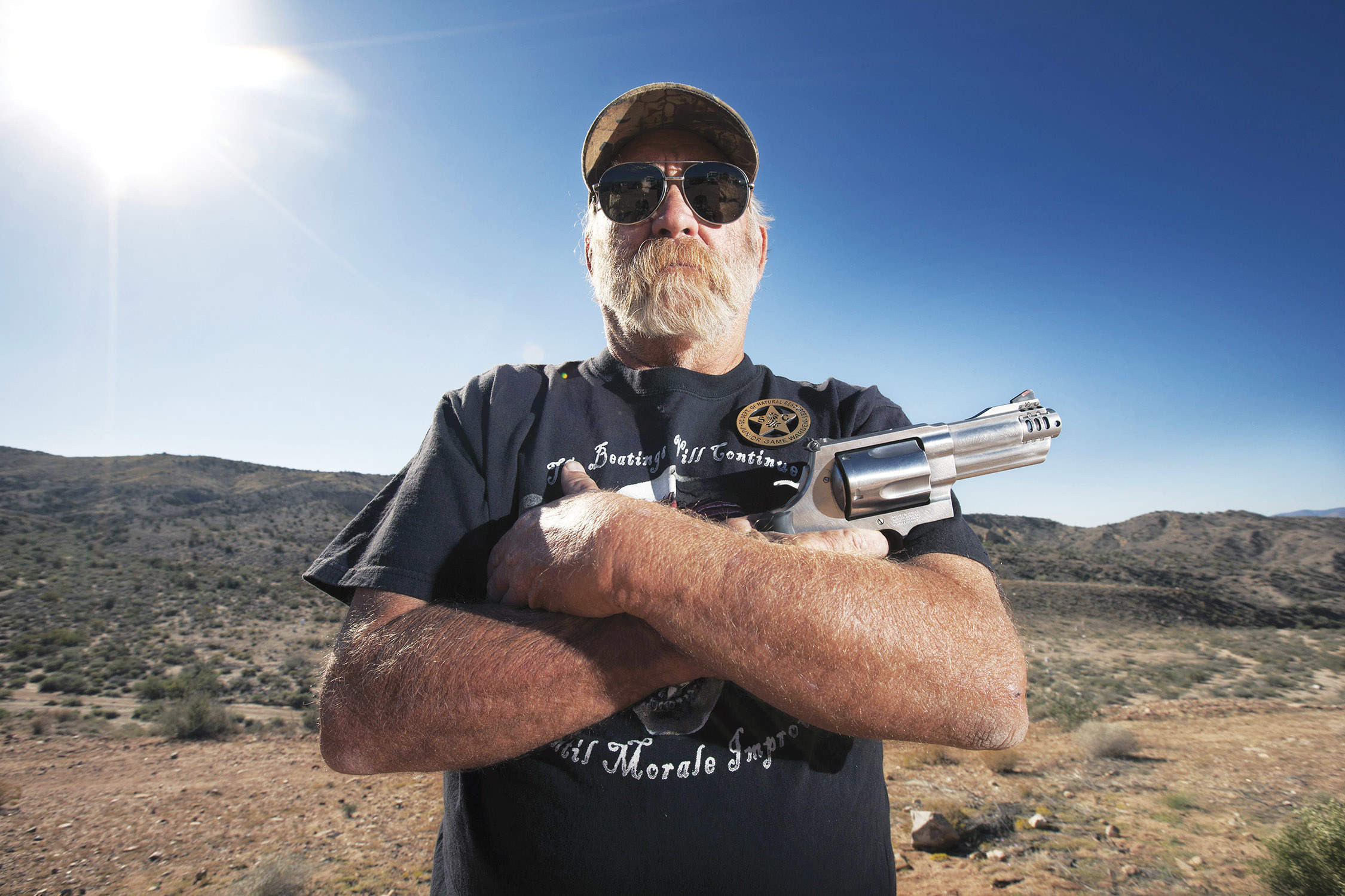 Stars, stripes and bulletholes: America and the brutal business of its guns