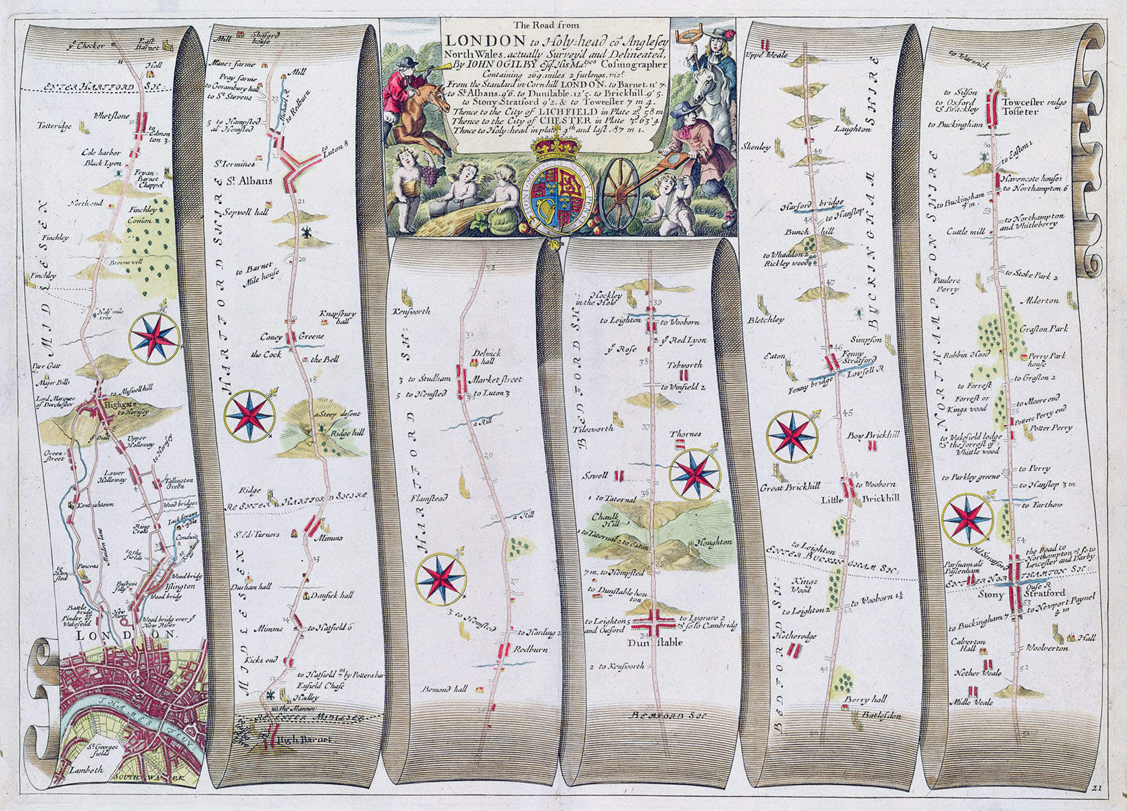 Why did Britain's first road atlas take you to Aberystwyth?