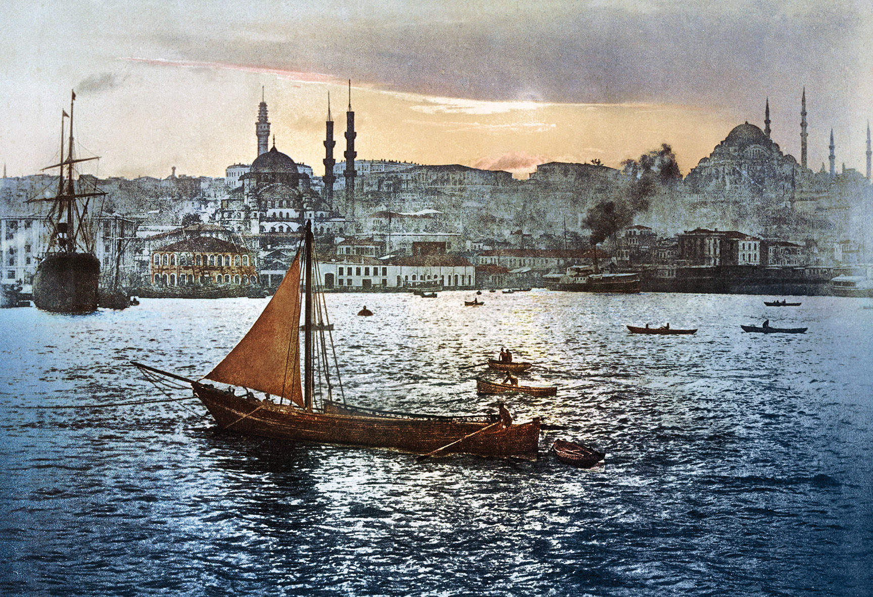 Imperial melting pot: how a new book reveals the remarkable history of Istanbul