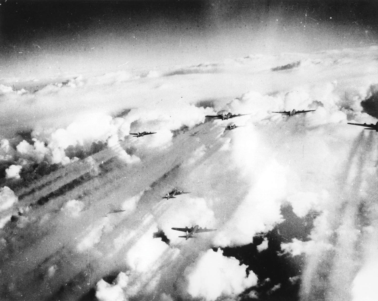 High explosive, damp squibs: the history of bombing raids