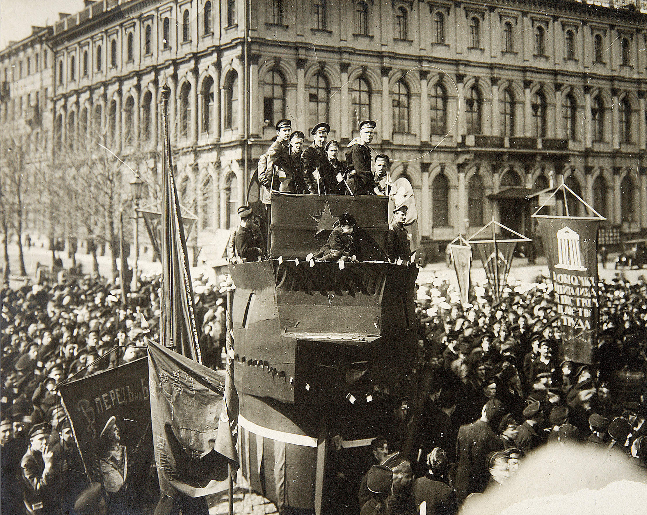 What caused the Russian revolution? Look to the powder keg of Petrograd
