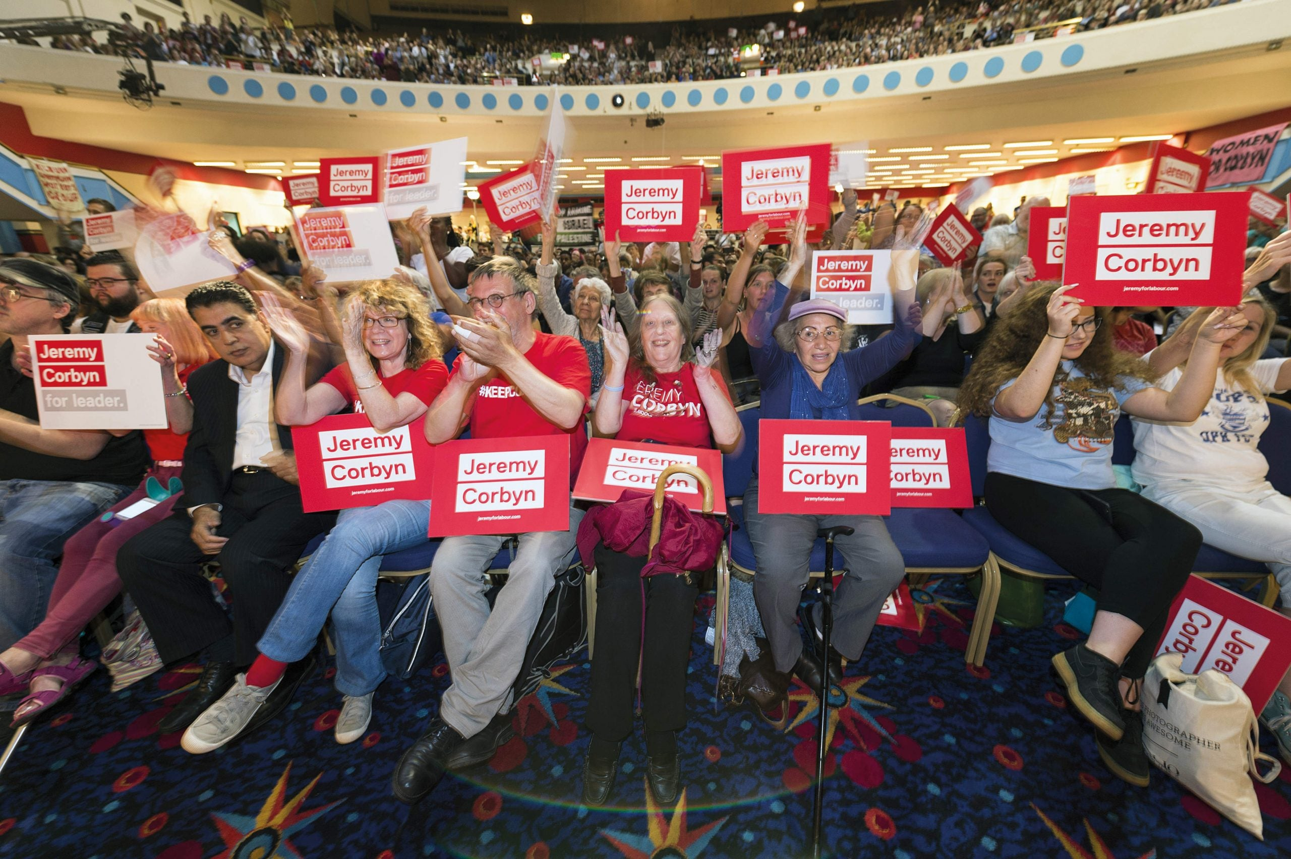 Losing Momentum: how Jeremy Corbyn's support group ran out of steam