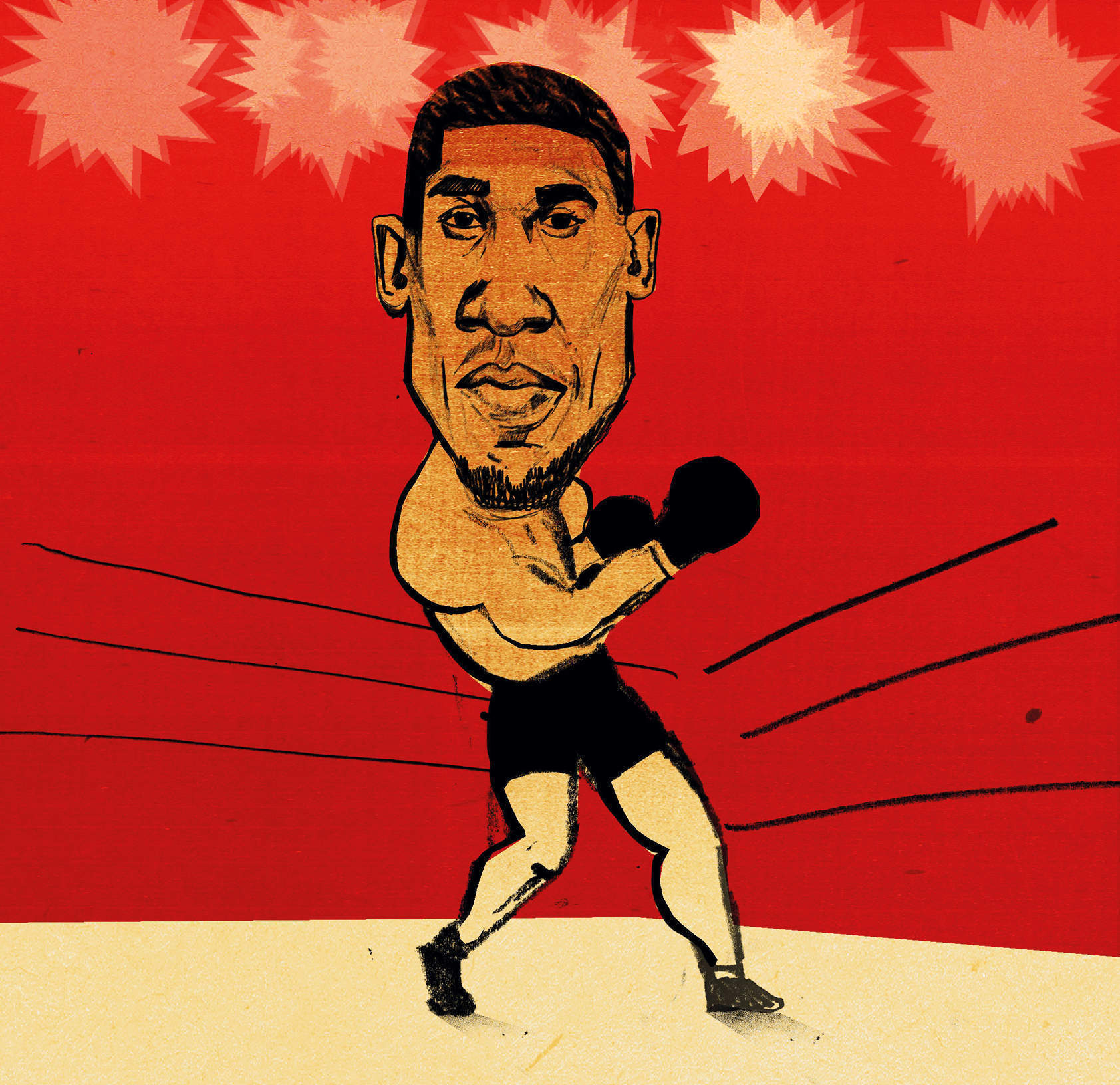 The friendly hitman: how boxing gave Anthony Joshua a second chance