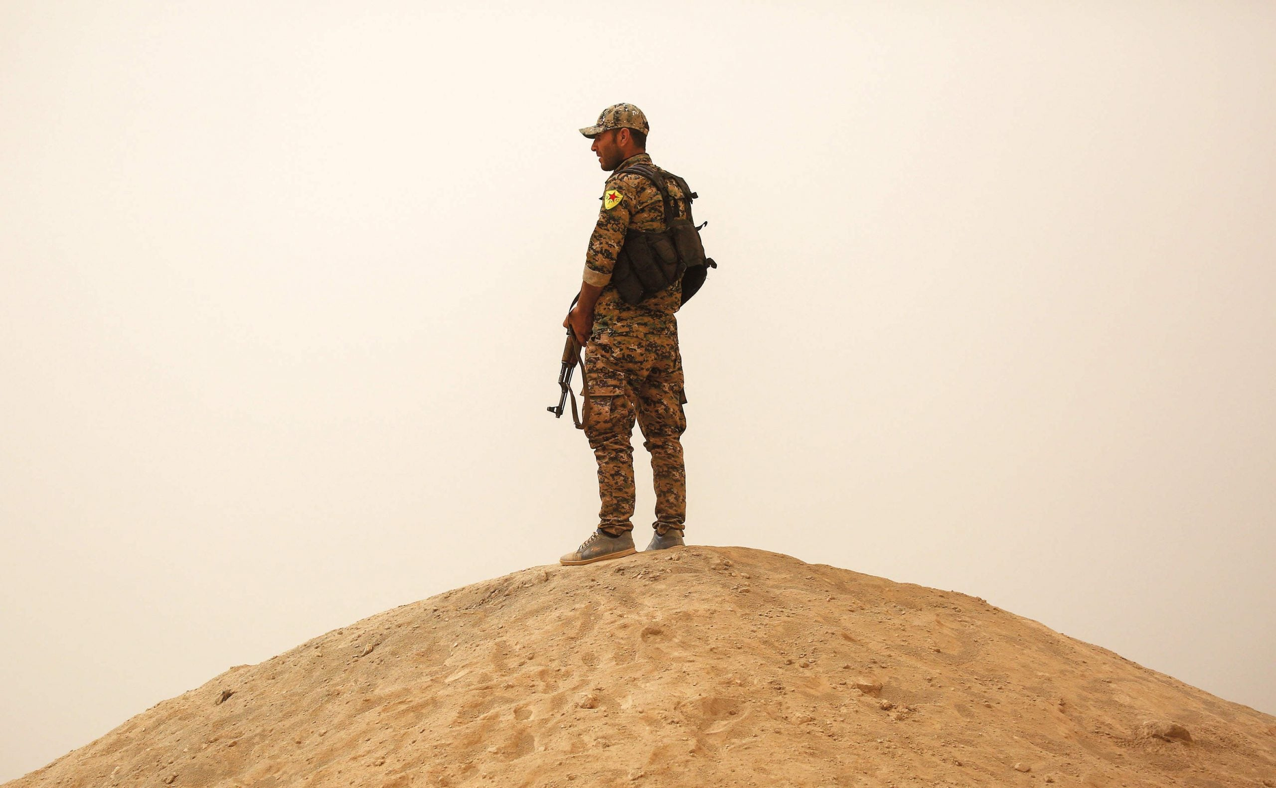 Guns and bullets and nothing more: the Syrian Kurds fighting Isis