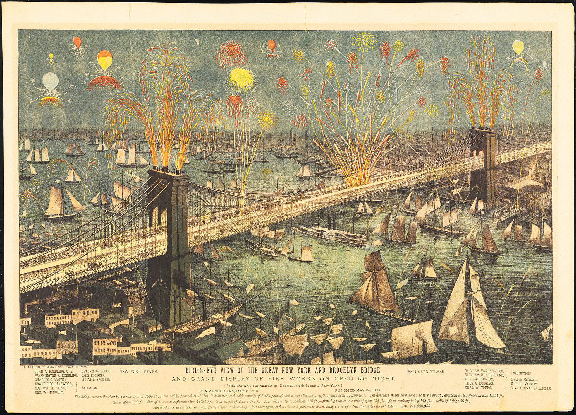 From shore to shining shore: Erica Wagner's vivid account of the building of the Brooklyn Bridge