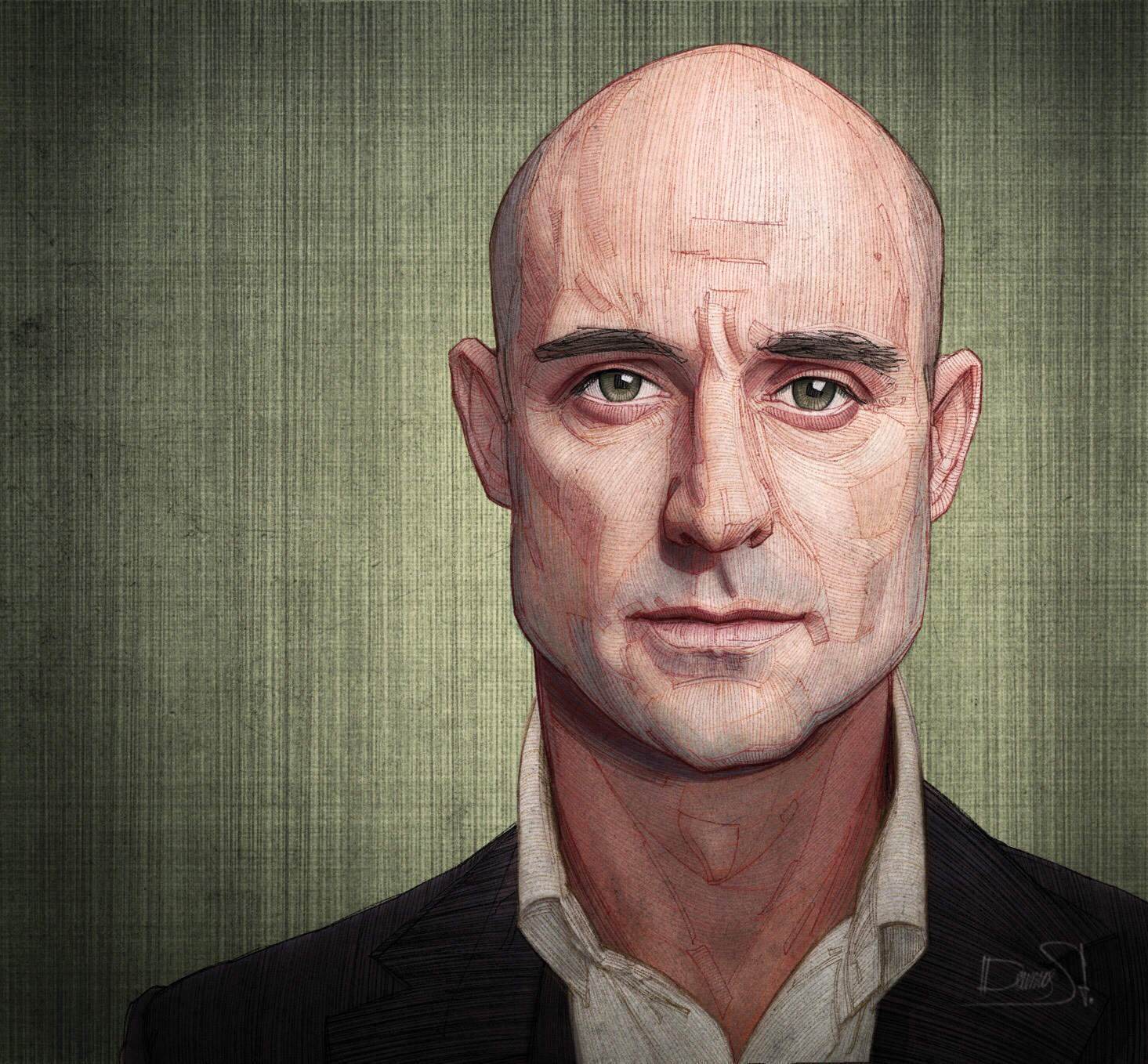 """Mark Strong Q&A: """"I suspected playing a barrister was more fun than being one"""""""