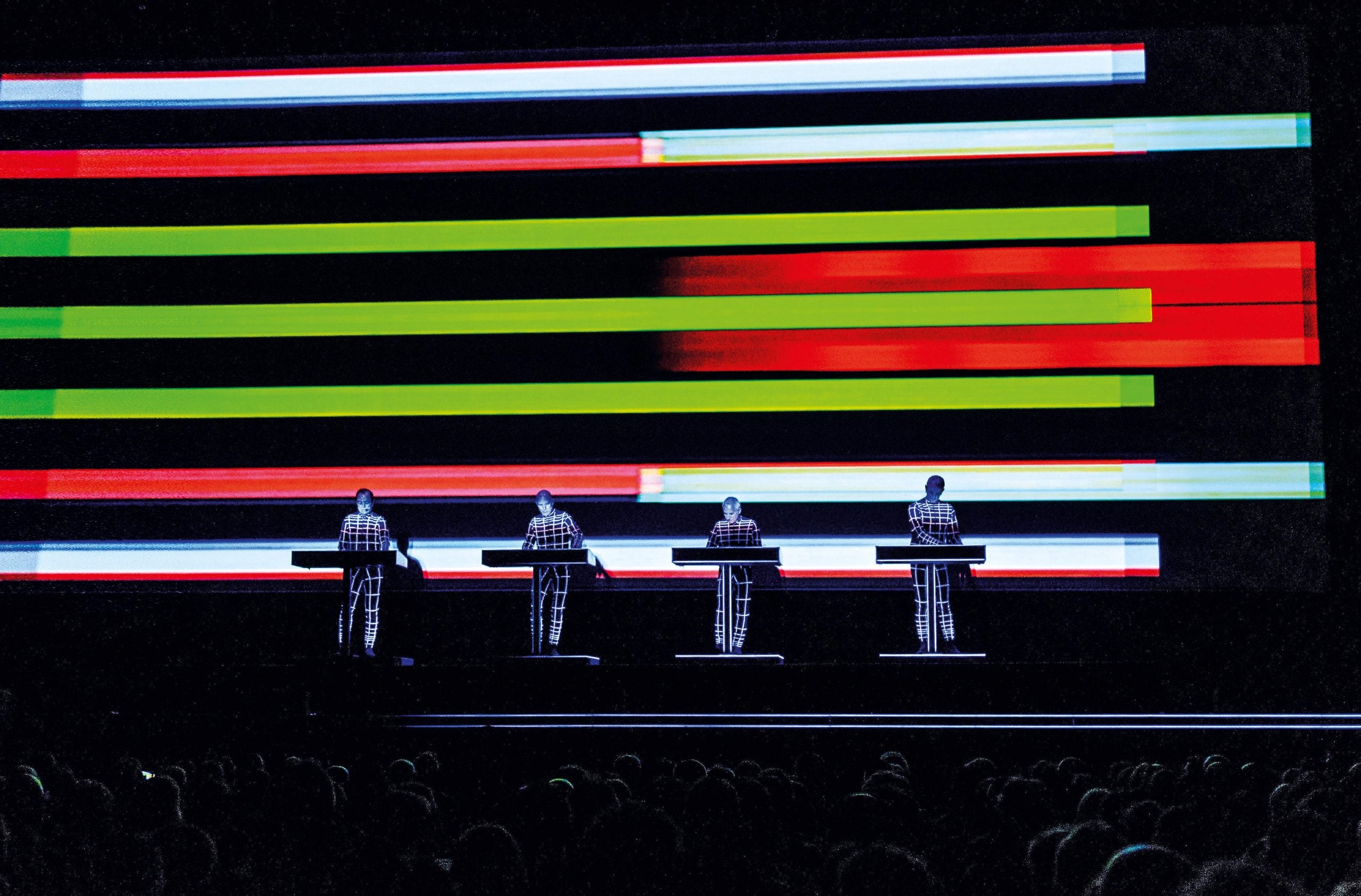Yesterday's tomorrows: Kraftwerk are today less a band than a conceptual art project