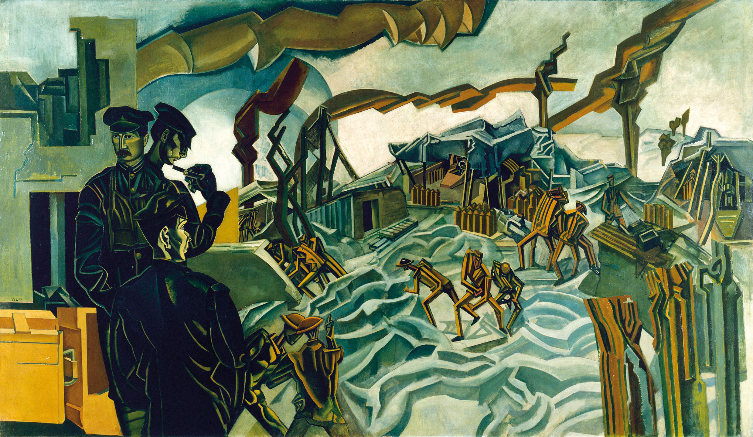 The art of Wyndham Lewis is hard to love but impossible to ignore