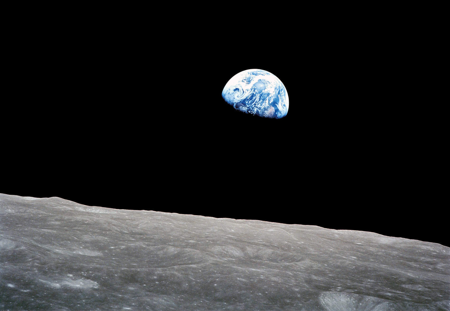 The real value of space travel is recognising the beauty of our planet