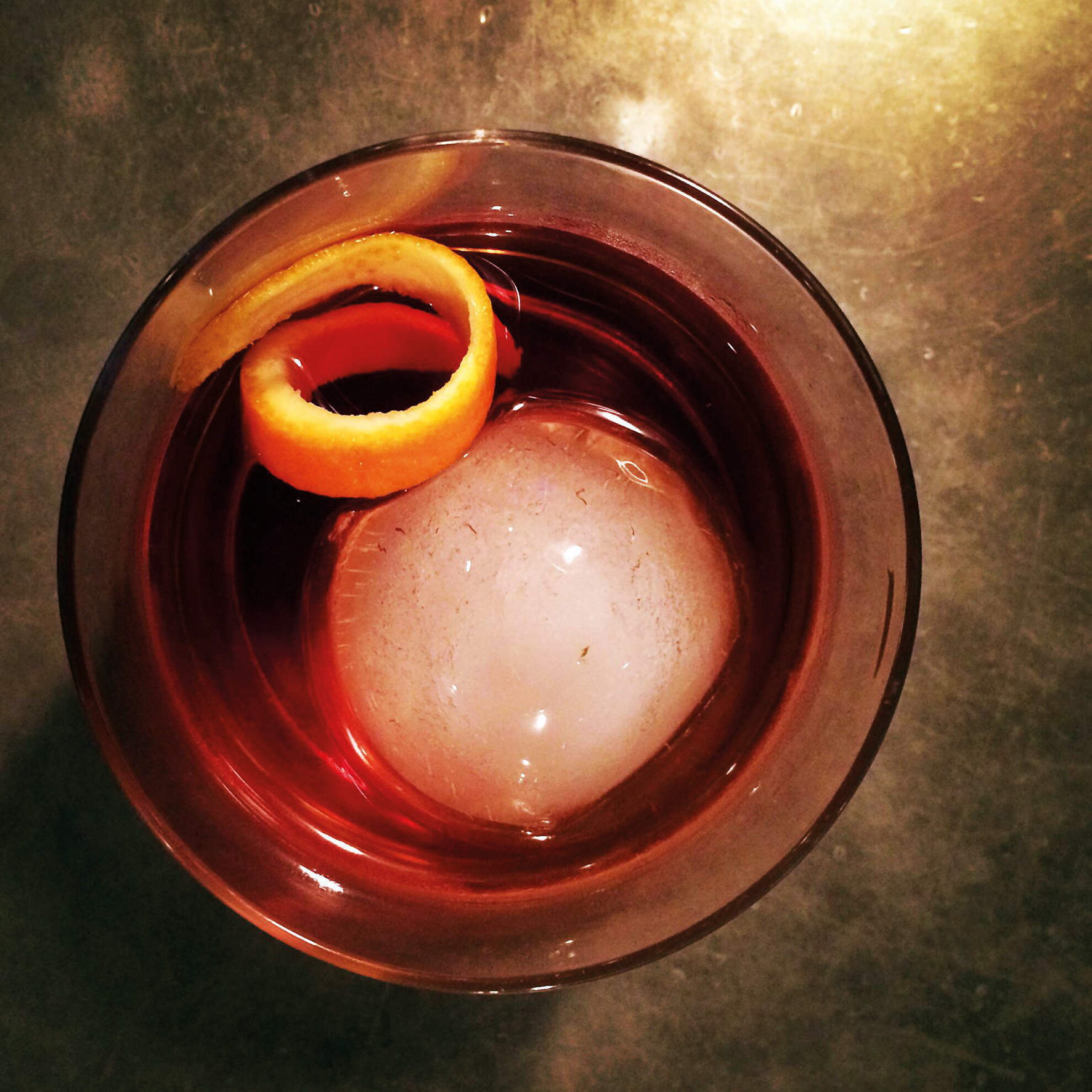 The Negroni fools no one – it's easy to make and contains nothing but booze
