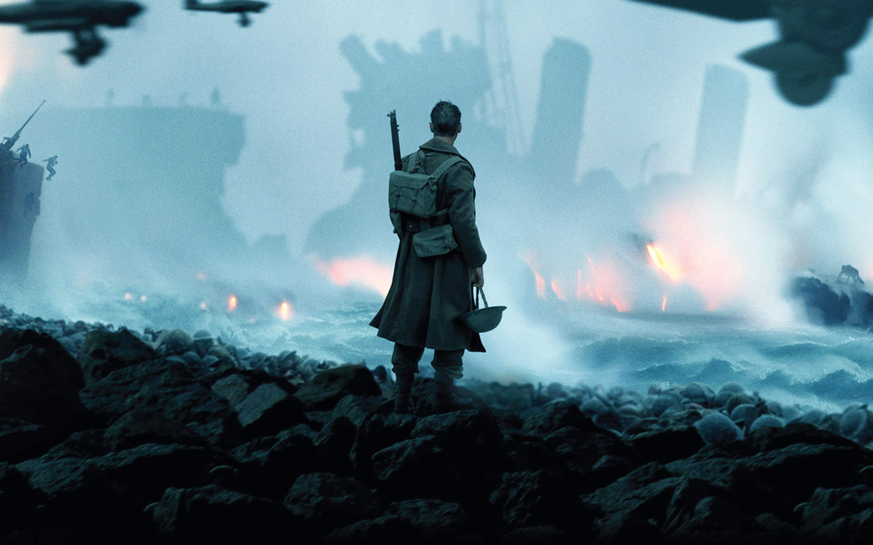 Dunkirk is an accomplished, expressive war film without the blood and guts