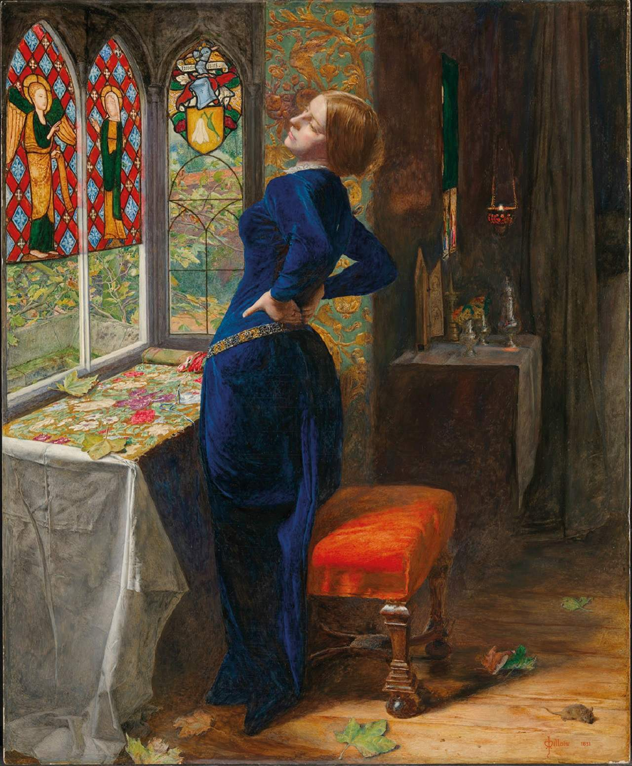 Through the looking glass: what the pre-Raphaelites took from Van Eyck
