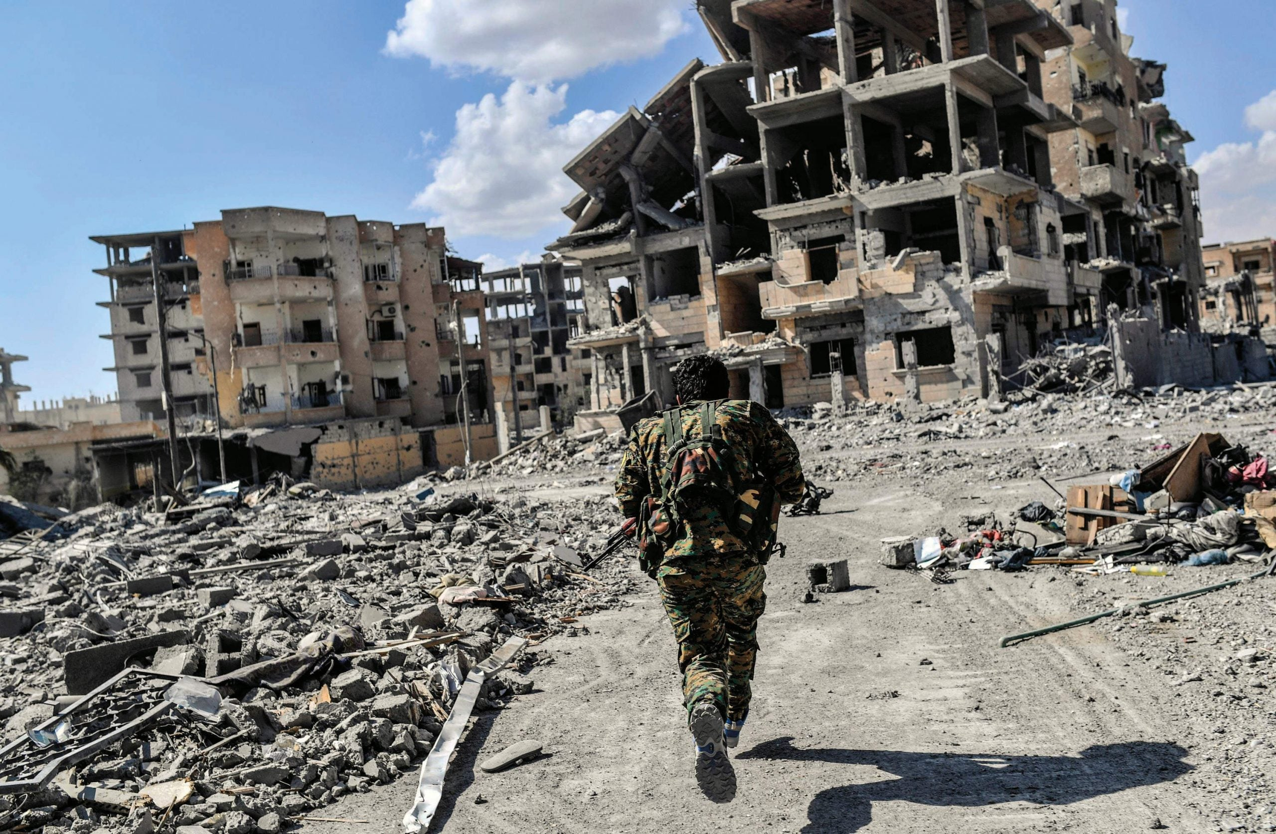 Six days in Raqqa: inside the battle for Islamic State's last major stronghold