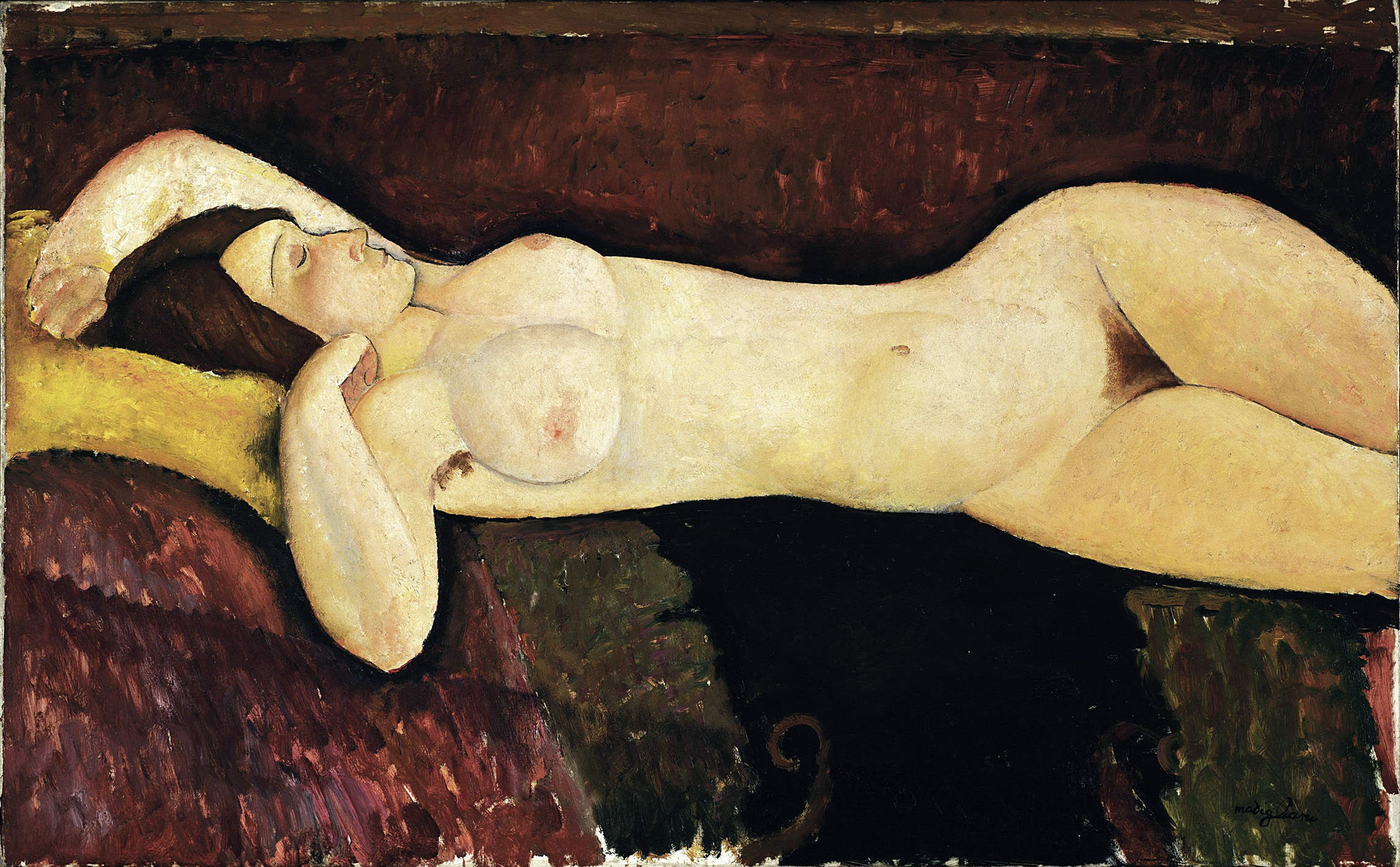Amedeo Modigliani sought to portray instinctive humanity – but couldn't outrun his own instincts