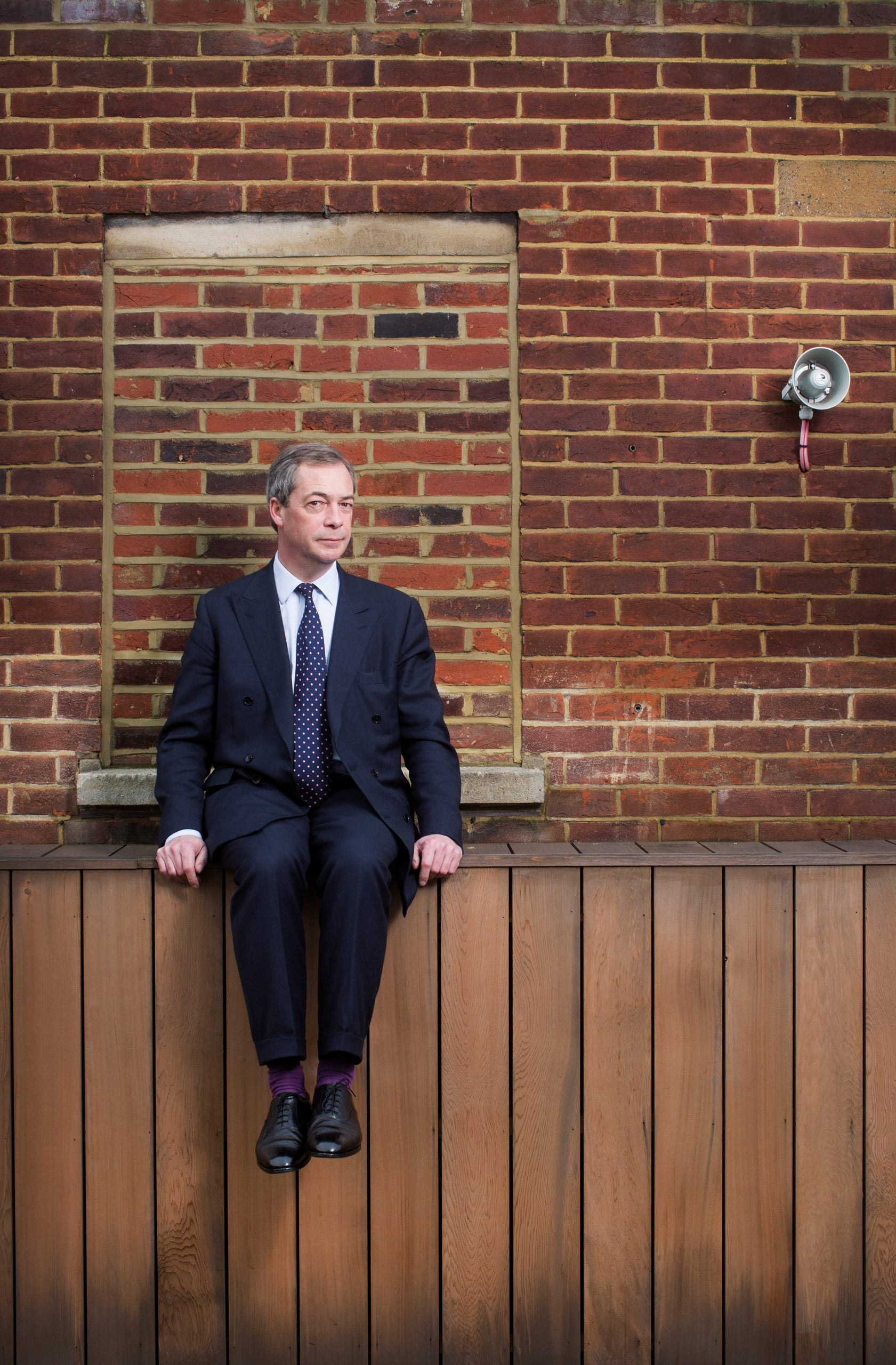Nigel Farage: the arsonist in exile