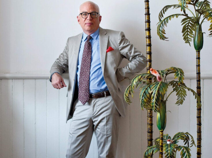 Michael Wolff: a dandy hitman and the very best gossip in the business