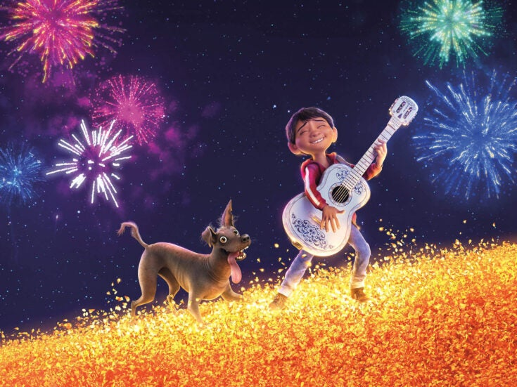 Skeleton crew: the animation in Pixar's latest offering, Coco, is scrupulous and ravishing