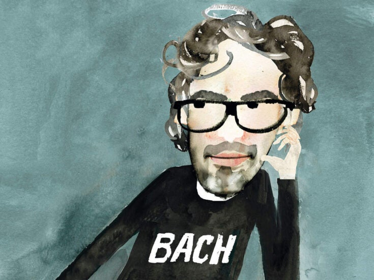 """James Rhodes Q&A: """"I feel like I have a less punchable face on canvas"""""""
