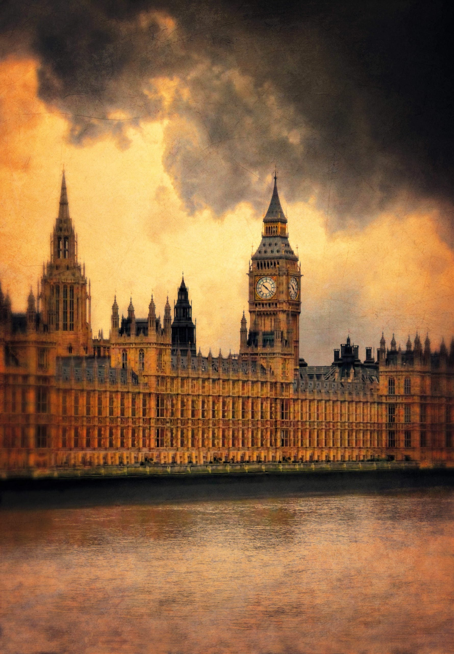 The Houses of Parliament are falling down