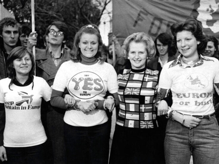 The original remainers: how 1975 produced a successful pro-Europe referendum campaign