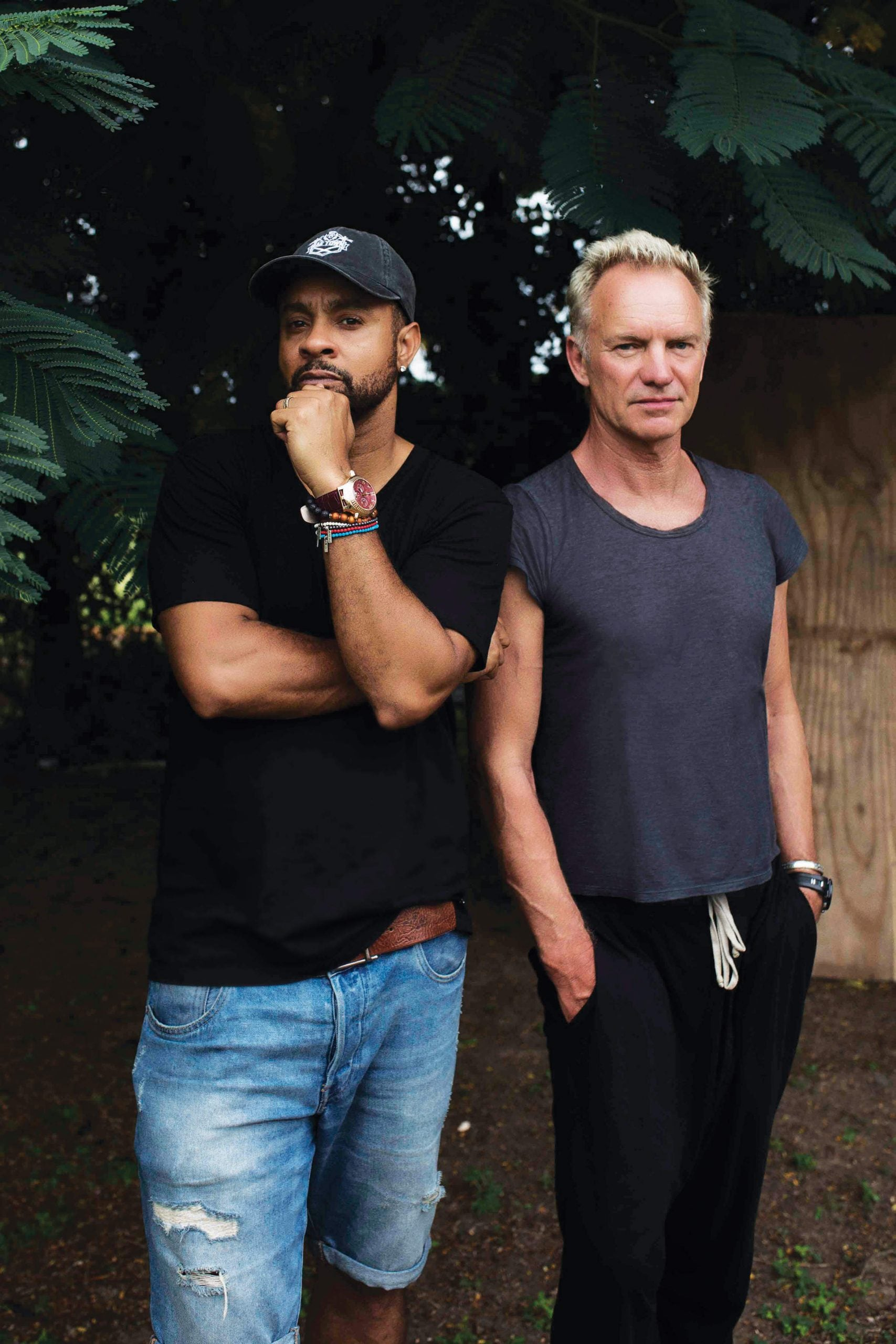 """""""I call him the Pope of Jamaica"""": An encounter with Shaggy and Sting"""