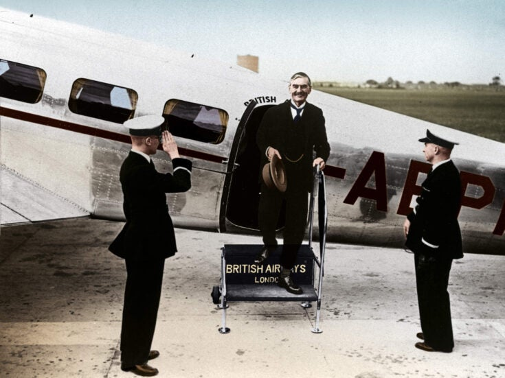 Did Neville Chamberlain create the conditions for the RAF to win the Battle of Britain?