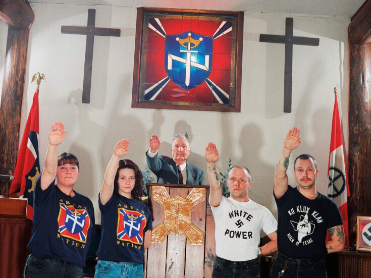 A whiter shade of hate: the long history of the American far right