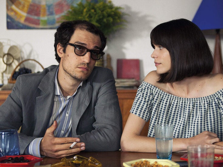 Taking the God out of Godard: Michel Hazanavicius's Redoubtable is an irreverent portrait of the French filmmaker