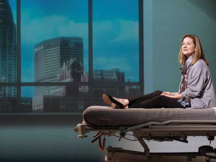 Laura Linney is captivating in My Name is Lucy Barton