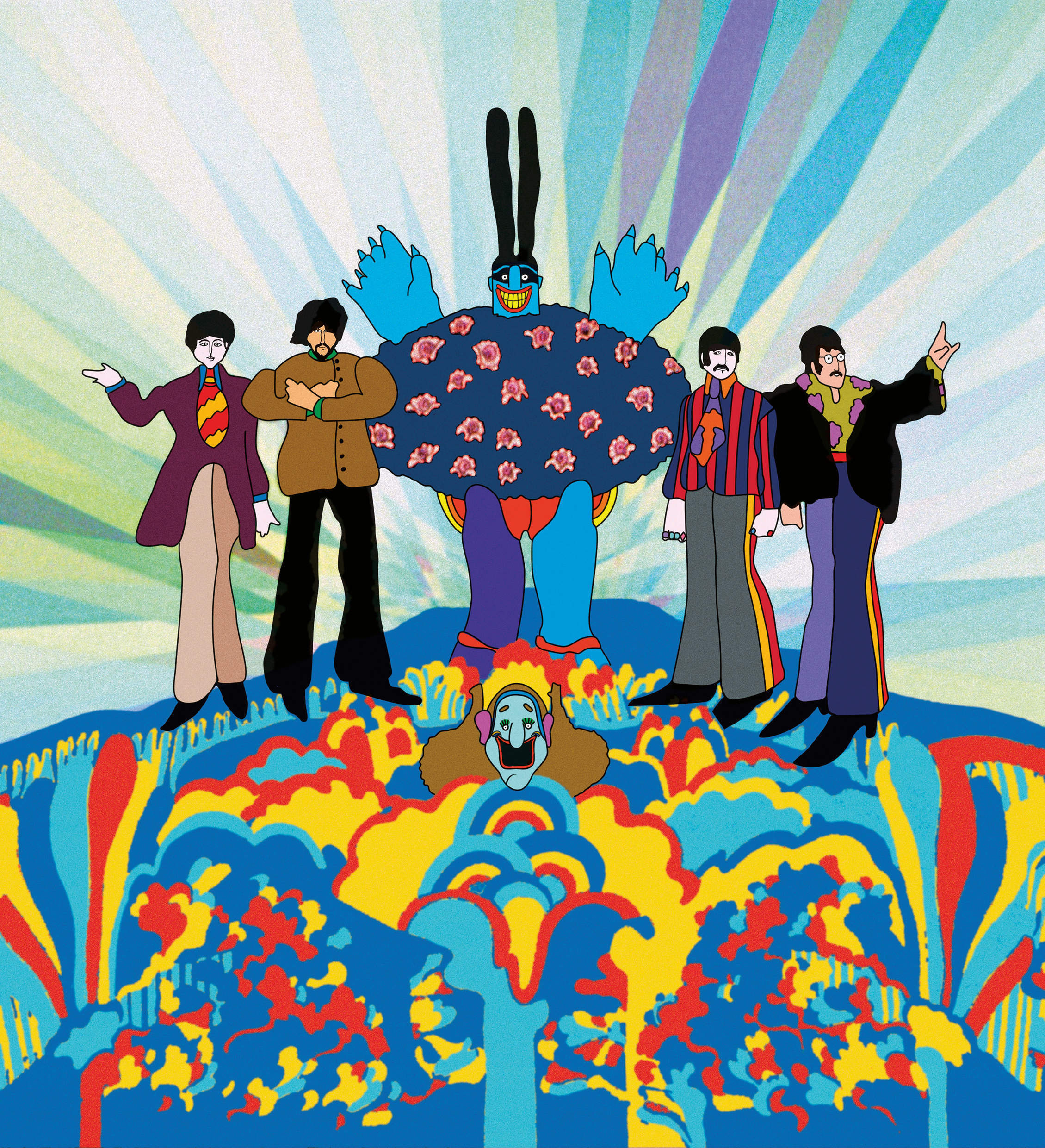 50 years on, the Beatles film Yellow Submarine tells the story of the Sixties