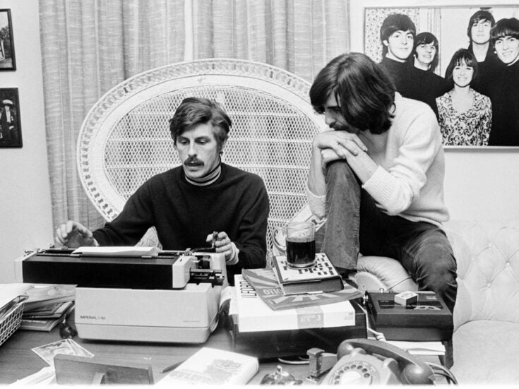 Ticket to write: Derek Taylor's front-line dispatches from Sixties counterculture