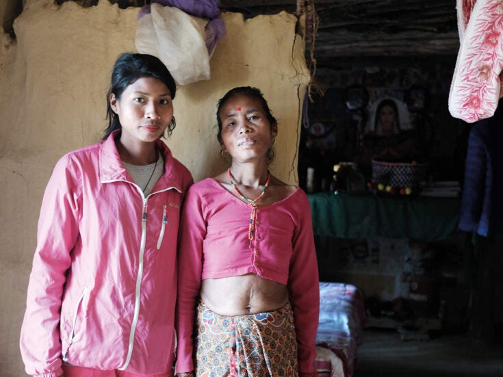 The Nepalese girls who lost their childhoods