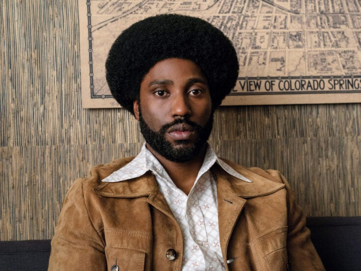 Spike Lee's grotesque comic thriller BlacKkKlansman is unique and electrifying