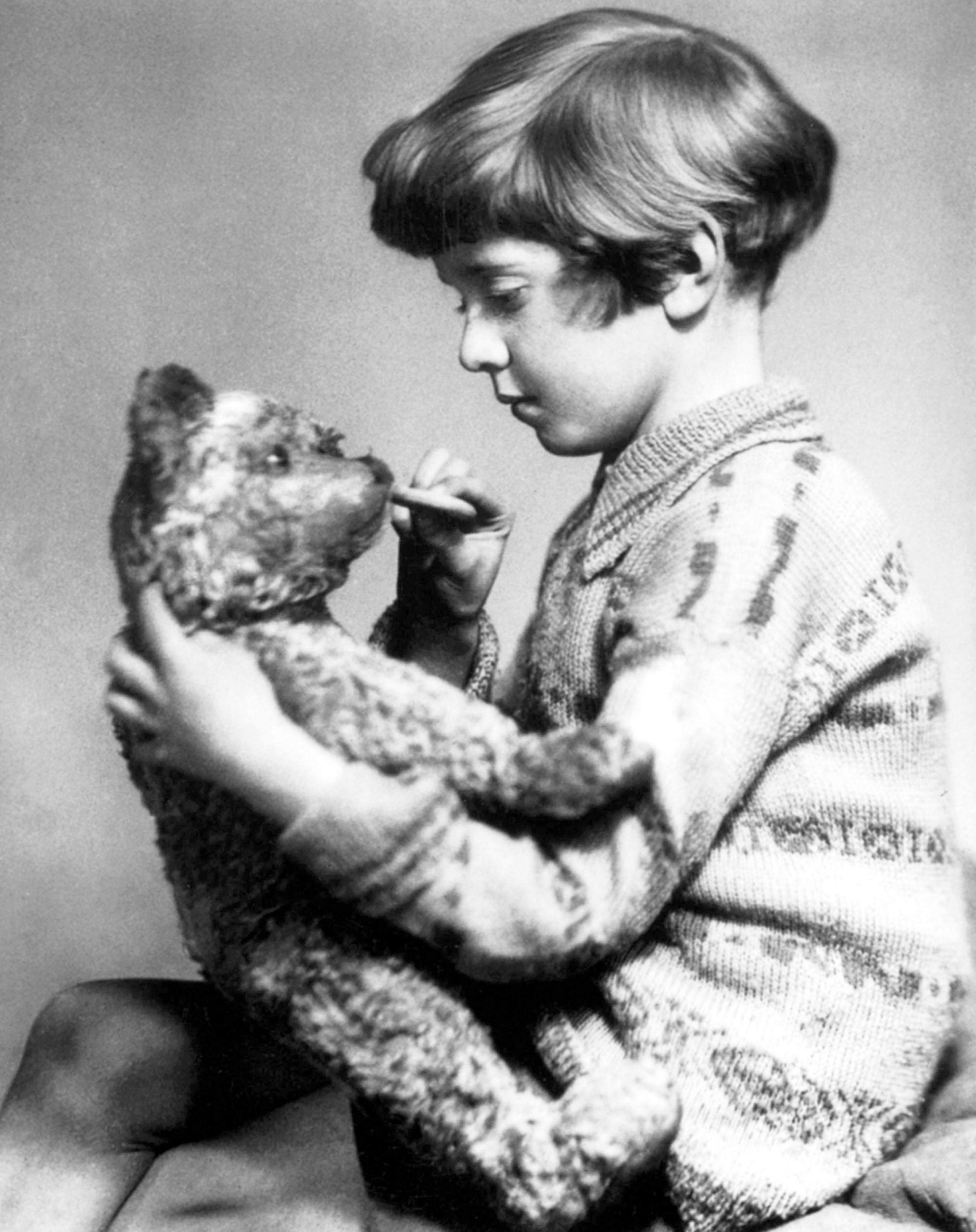 Exit, pursued by a bear: how the real Christopher Robin escaped Winnie-the-Pooh