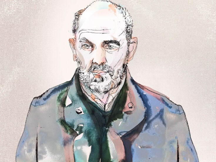 """Keith Allen Q&A: """"I'm in love with corrugated iron chapels and churches"""""""