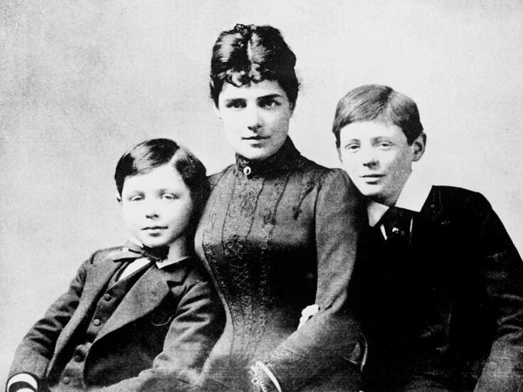 Bringing up Winnie: Winston Churchill's revealing letters to his mother