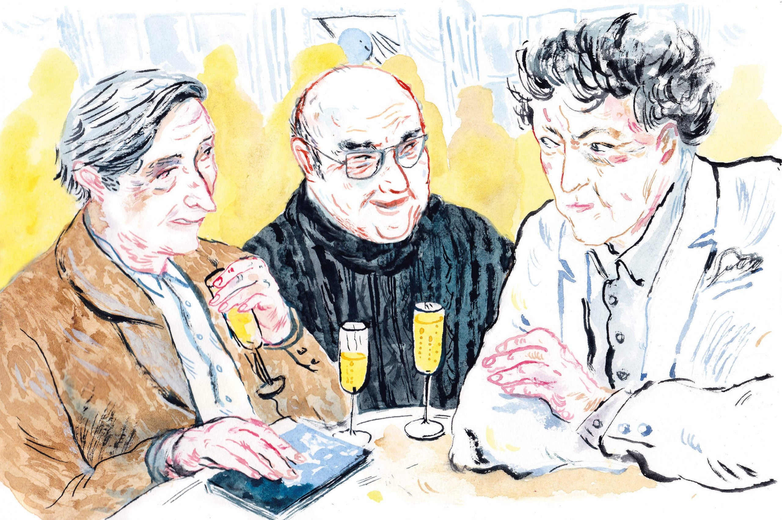 """""""I've got a few of these stories"""": An afternoon with Clive James, Tom Stoppard and Julian Barnes"""