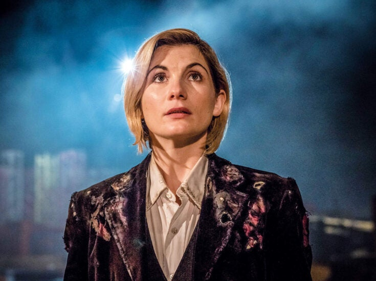 I couldn't be more glad that the Doctor is at last a woman