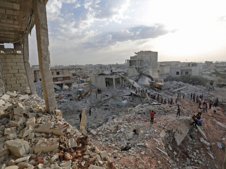 Drinking whisky in the ruins of Idlib, Syria's last bastion of resistance