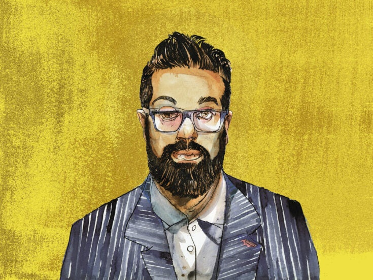 """Romesh Ranganathan Q&A: """"I'd only have my portrait done to ceremoniously burn it"""""""