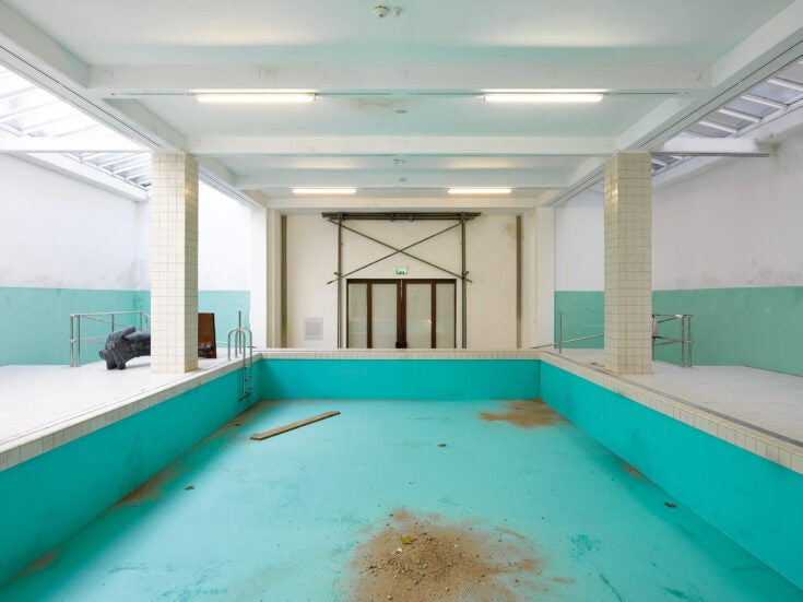 The drained world: Elmgreen & Dragset explore gentrification and loss via an empty swimming pool