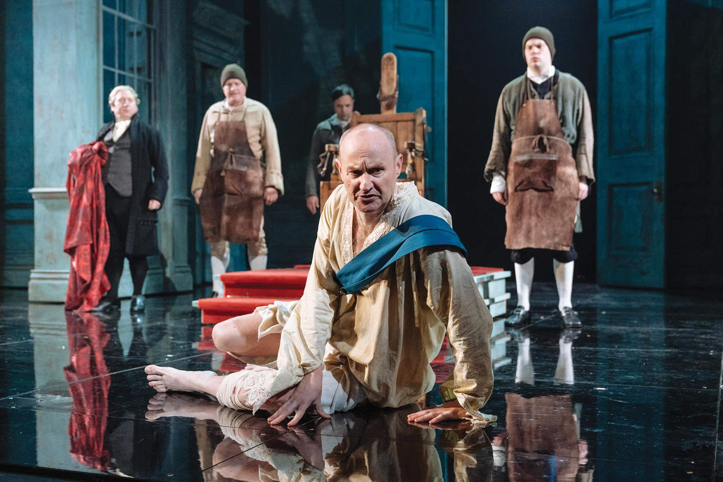 Alan Bennett's play The Madness of George III has new relevance in 2018