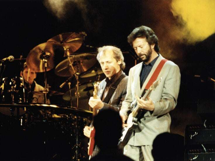 The night that changed my life: Sarah Hall on seeing Eric Clapton live