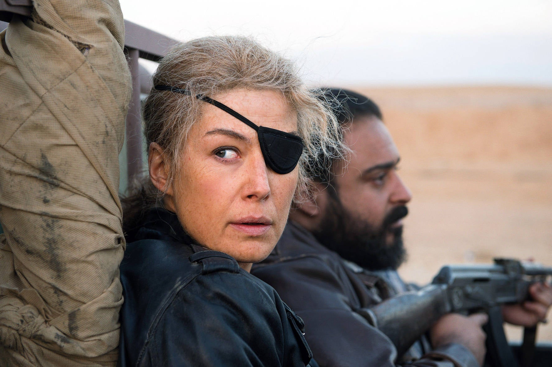 Rosamund Pike gives a force-of-nature performance in A Private War